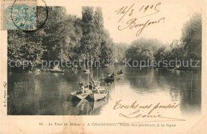 Champigny_Marne Poste des pecheurs a la ligne Champigny Marne