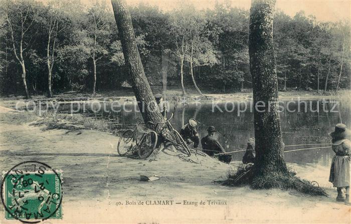 Clamart Etang de Trivaux au bois Clamart