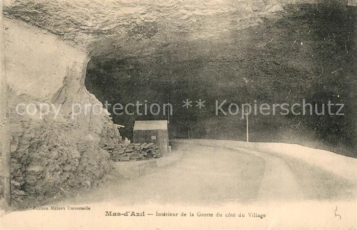Mas d_Azil_Le Interieur de la Grotte Mas d_Azil_Le