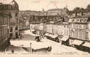 Bar_le_Duc_Lothringen Rue Entre Deux Ponts Rue Rousseau et Ville Haute Bar_le_Duc_Lothringen