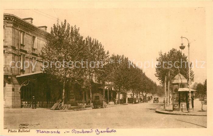 Marmande Boulevard Gambetta Marmande