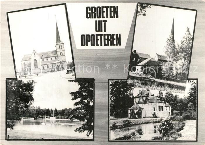 Opoeteren Kirche Muehle See Opoeteren