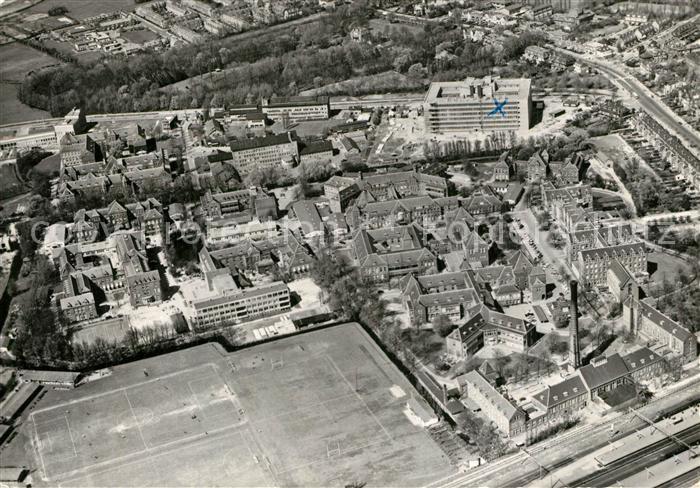 Leiden Academisch Ziekenhuis Fliegeraufnahme Leiden