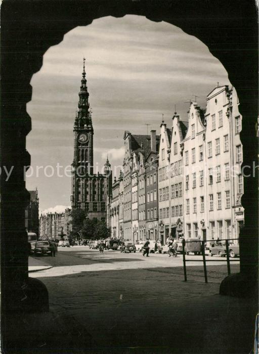 Gdansk The Long Market Square Gdansk