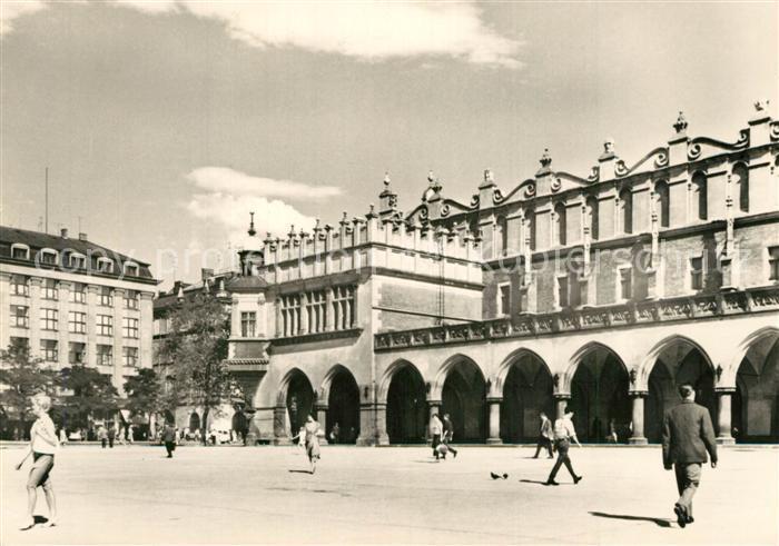Krakow_Krakau Sukiennice  Krakow Krakau