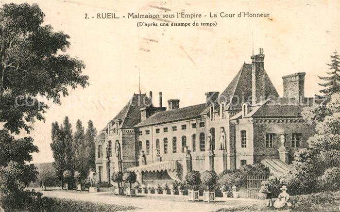 Rueil Malmaison Chateau Cour d Honneur Rueil Malmaison