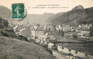 Le_Mont Dore Vue generale et le Capucin Le_Mont Dore