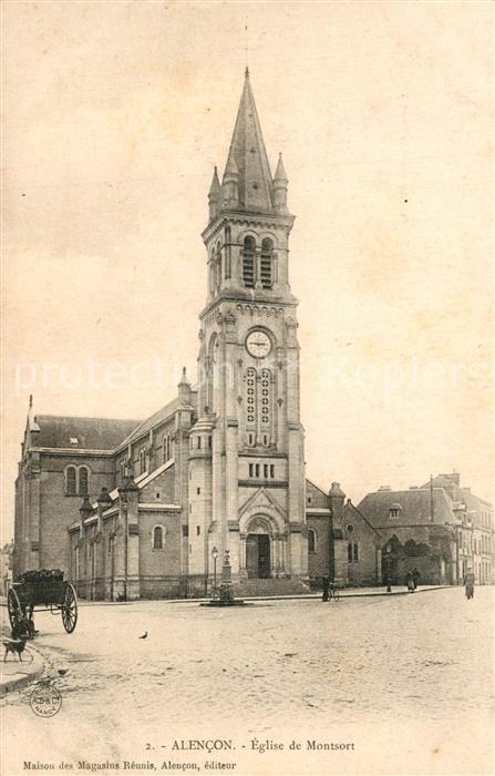 Alencon Eglise de Montsort Alencon