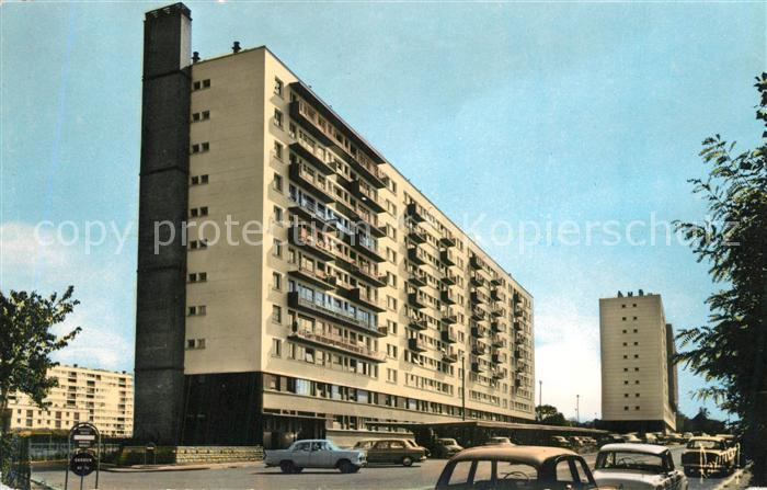 Antony Immeubles Sentier de Berny Hochhaus Wohnblocks Antony