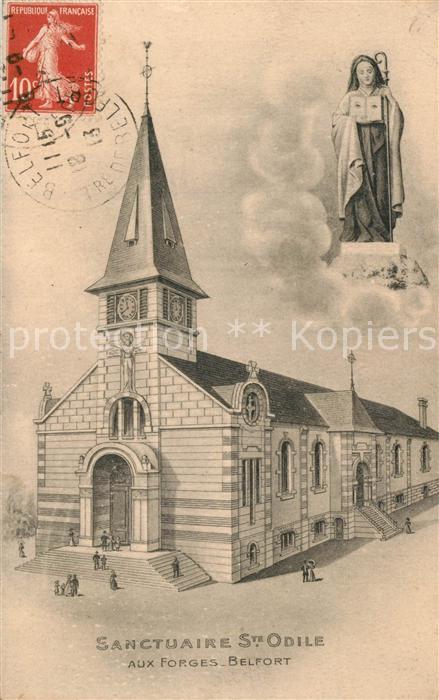 Belfort_Alsace Sanctuaire St. Odile Belfort Alsace