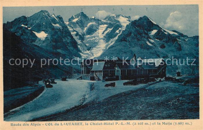 Col_du_Lautaret Chalet Hotel P. L. M. Col_du_Lautaret