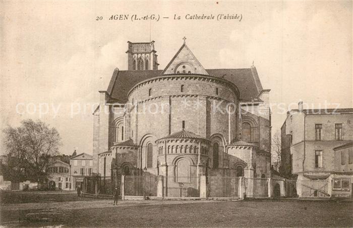 Agen_Lot_et_Garonne Cathedrale Agen_Lot_et_Garonne