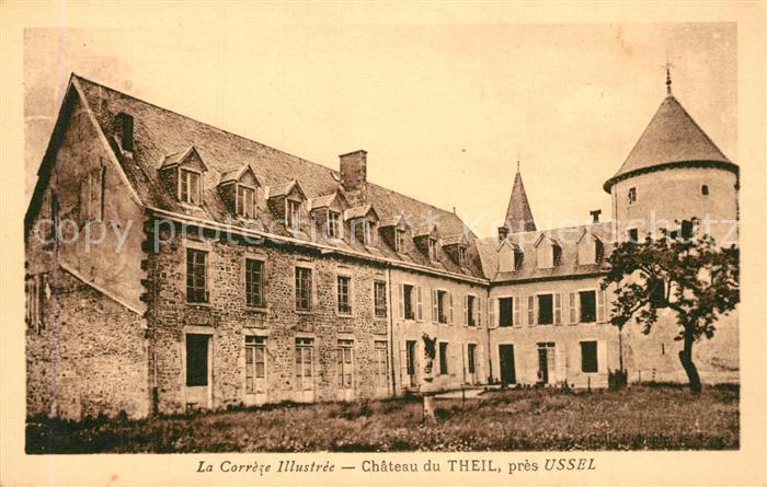 Le_Theil_Correze Chateau Schloss