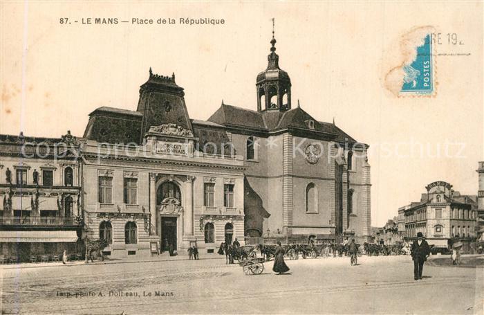 Le_Mans_Sarthe Place de la Republique Le_Mans_Sarthe