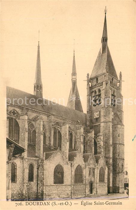 Dourdan Eglise Saint Germain Dourdan