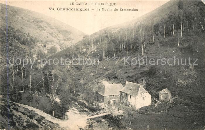 Chaudes Aigues Moulin du Remontalou Chaudes Aigues