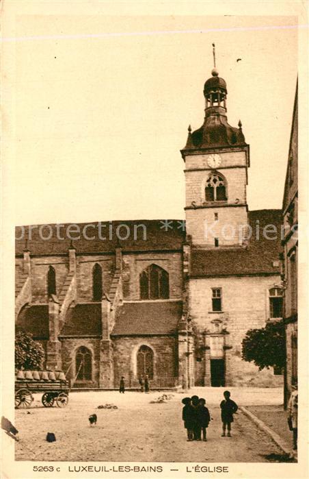 Luxeuil les Bains Eglise Kirche Collection Les Vosges Luxeuil les Bains