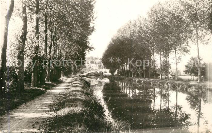 Clamecy_Nievre Les bords du canal Clamecy_Nievre