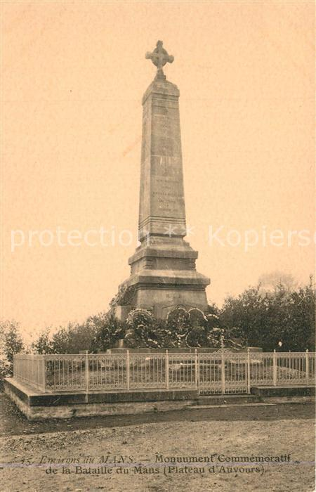 Le_Mans_Sarthe Monument Commemoratif de la Bataille du Mans Kriegerdenkmal Le_Mans_Sarthe