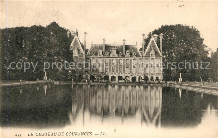 Courances Chateau Schloss Courances