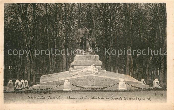 Nevers_Nievre Monument des Morts de la Grande Guerre Kriegerdenkmal Nevers Nievre