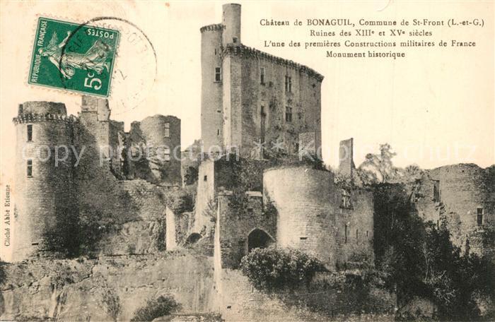Bonaguil Chateau Ruines