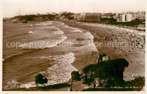 Biarritz_Pyrenees_Atlantiques Grande Plage Cote du Phare Biarritz_Pyrenees