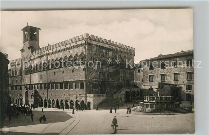 Perugia Palazzo Comunale Piazza IV Novembre  Perugia