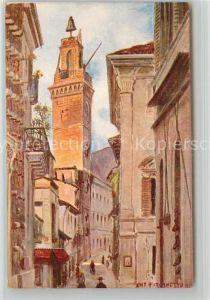 L_Aquila Via Cavour Torre di Palazzo Antonio Furlanetto L_Aquila