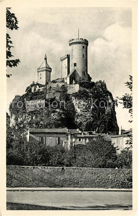 Foix Orage sur le Chateau Fort Foix