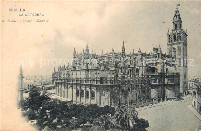 Sevilla_Andalucia La Catedral Sevilla_Andalucia