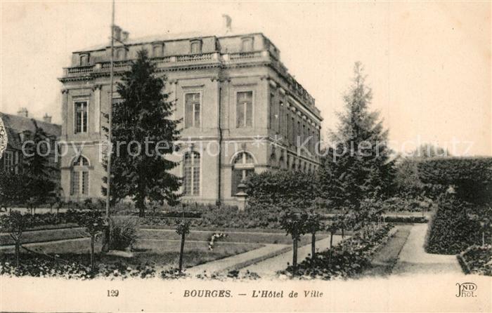 Bourges Hotel de Ville Rathaus Bourges
