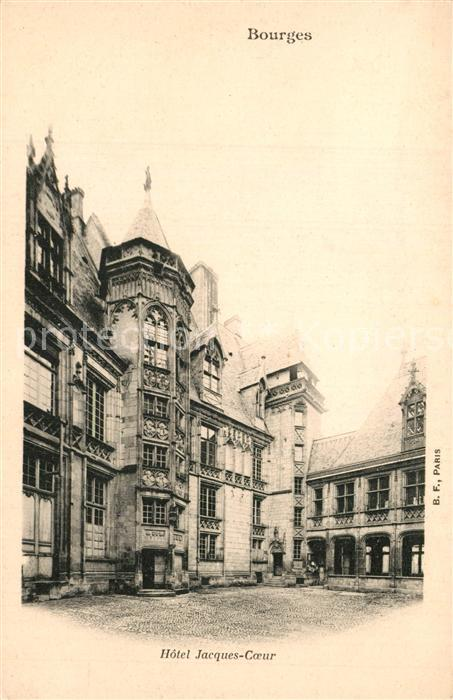 Bourges Hotel Jacques Coeur Bourges