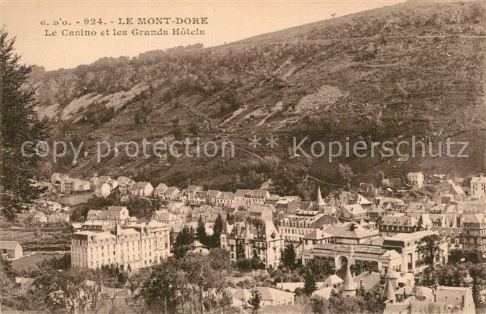 Le_Mont Dore Casino et les Grands Hotels Le_Mont Dore