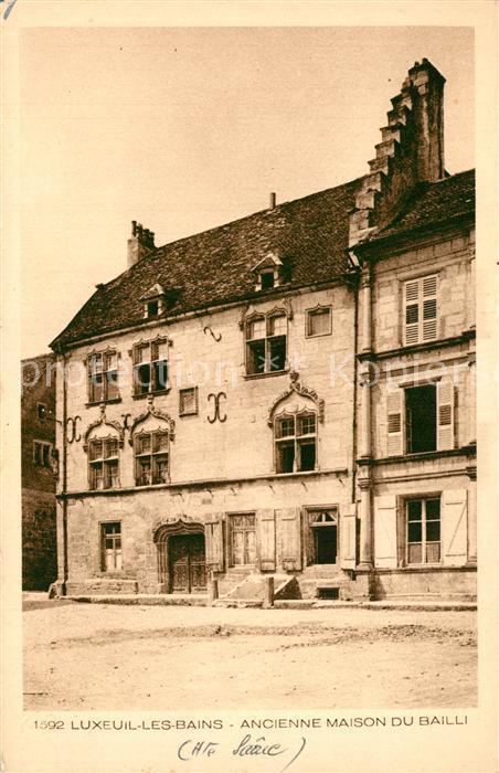 Luxeuil les Bains Ancienne Maison du Bailli Luxeuil les Bains