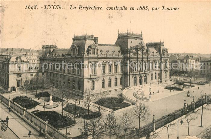 Lyon_France Pr?fecture  Lyon France