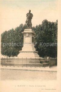 Macon_Hainaut Statue de Lamartine Macon Hainaut