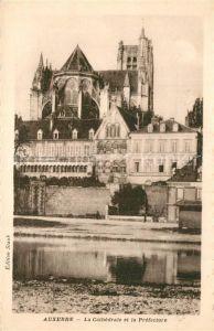 Auxerre La Cathedrale et la Prefecture Auxerre
