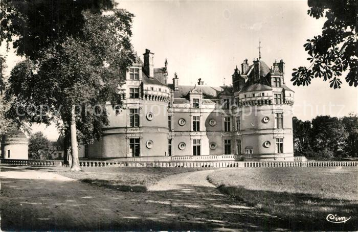 Le_Lude Le Chateau Facade Sud Le_Lude