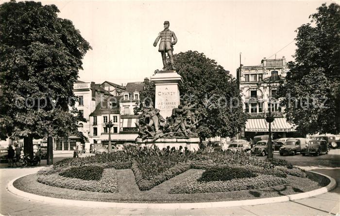 Le_Mans_Sarthe Place de la Republique Statue du General Chanzy Le_Mans_Sarthe