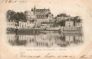 Amboise Chateau d'Amboise Vue d ensemble Amboise