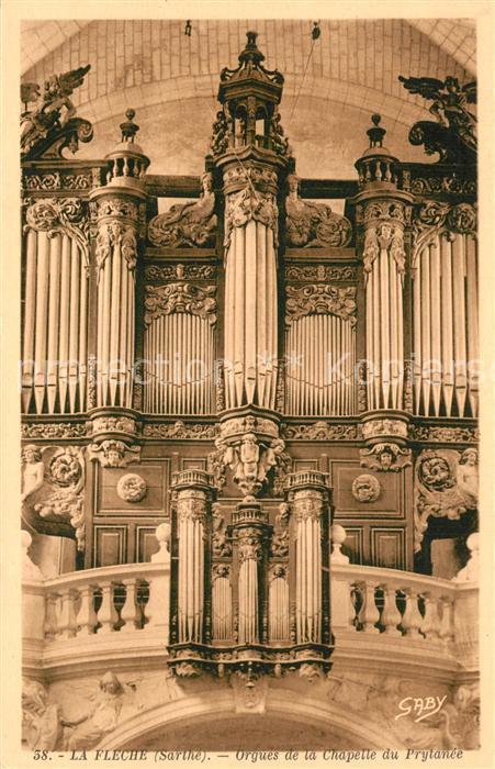 Kirchenorgel La Fleche Chapelle du Prytanee