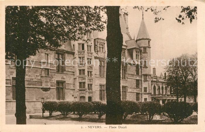 Nevers_Nievre Place Ducal Nevers Nievre