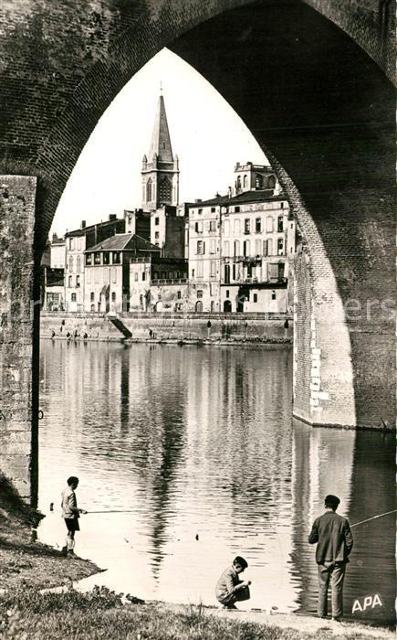 Montauban Un coin pittoresque aux bords du Tarn Montauban