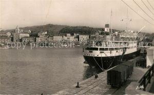 Port Vendres Bateau a Quai Port Vendres