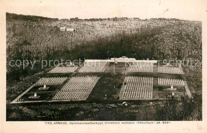 Vieil_Armand_Hartmannswillerkopf Cimetiere militaire Silberjoch Soldatenfriedhof Vieil_Armand