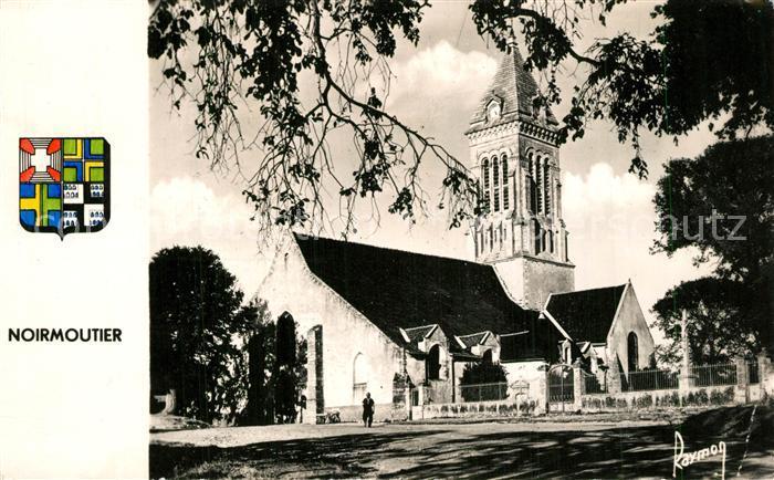 Noirmoutier en l_Ile Eglise Kirche Wappen Noirmoutier en l_Ile
