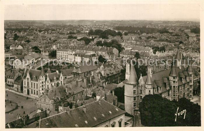 Nevers_Nievre Vue generale de la ville Nevers Nievre