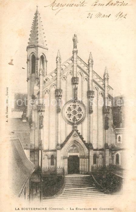 La_Souterraine Chapelle du Couvent La_Souterraine