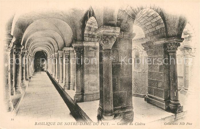 Puy en Velay_Le Basilique de Notre Dame Puy en Velay_Le